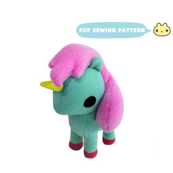 Pony Toy Pattern, Pony Pattern, Pony Sewing Pattern, Pony Toy Sewing ...