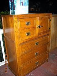 Young Hinkle Windjammer Tall Dresser Furniture Solid Oak