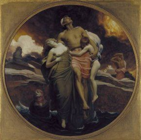 rederic Leighton (1830-1896) And the Sea Gave Up the Dead Which Were in It, 1892 Oil on canvas - 228.6 x 228.6 cm London, Tate Britain