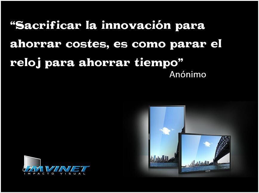 Atrévete a innovar con la Señalización Digital