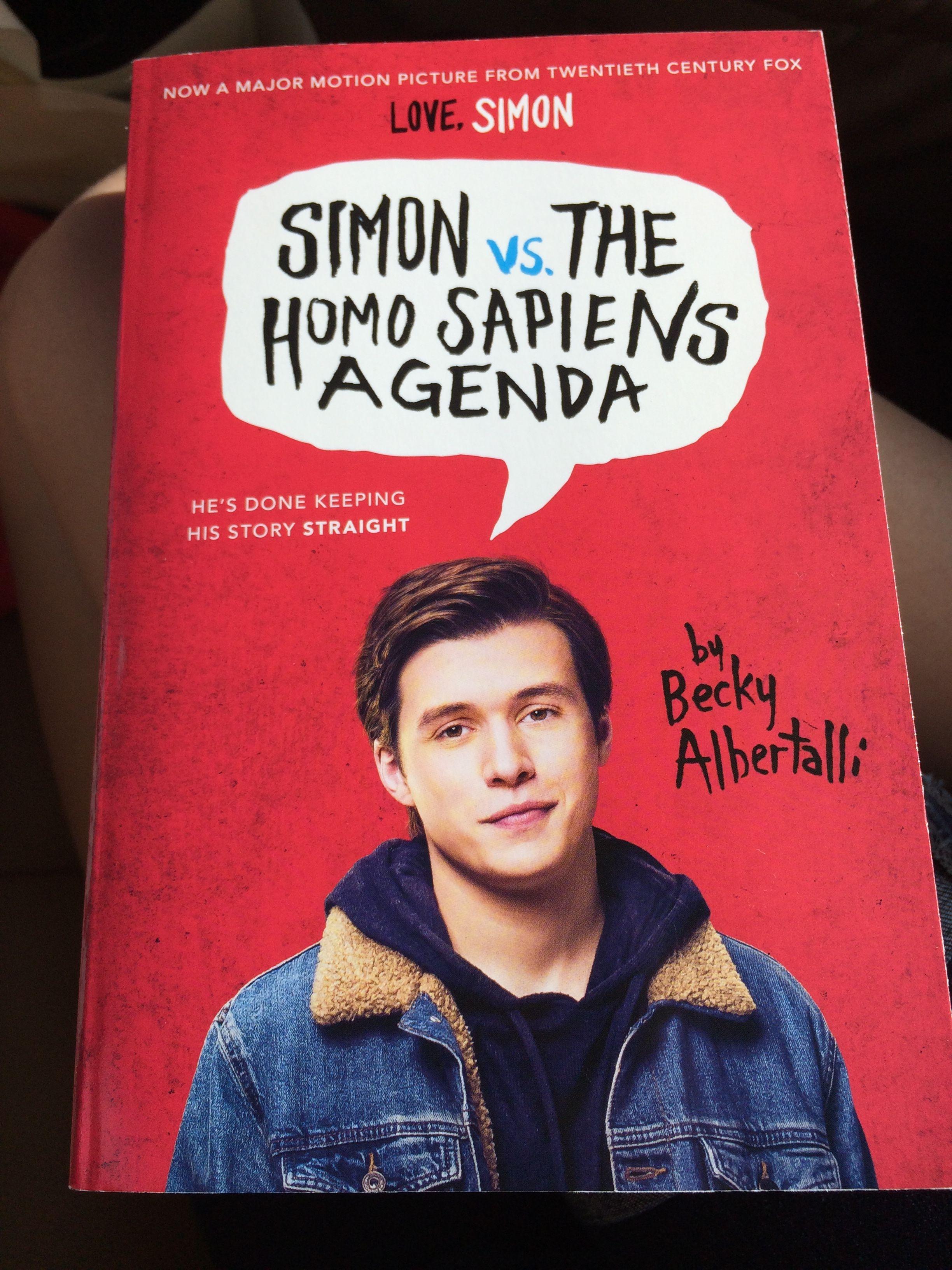 Pin de Railey em Love, Simon | Livros de filmes, Livros e