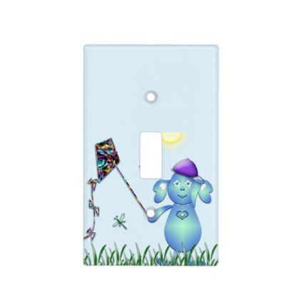 baby blu in the park light switch cover switch covers