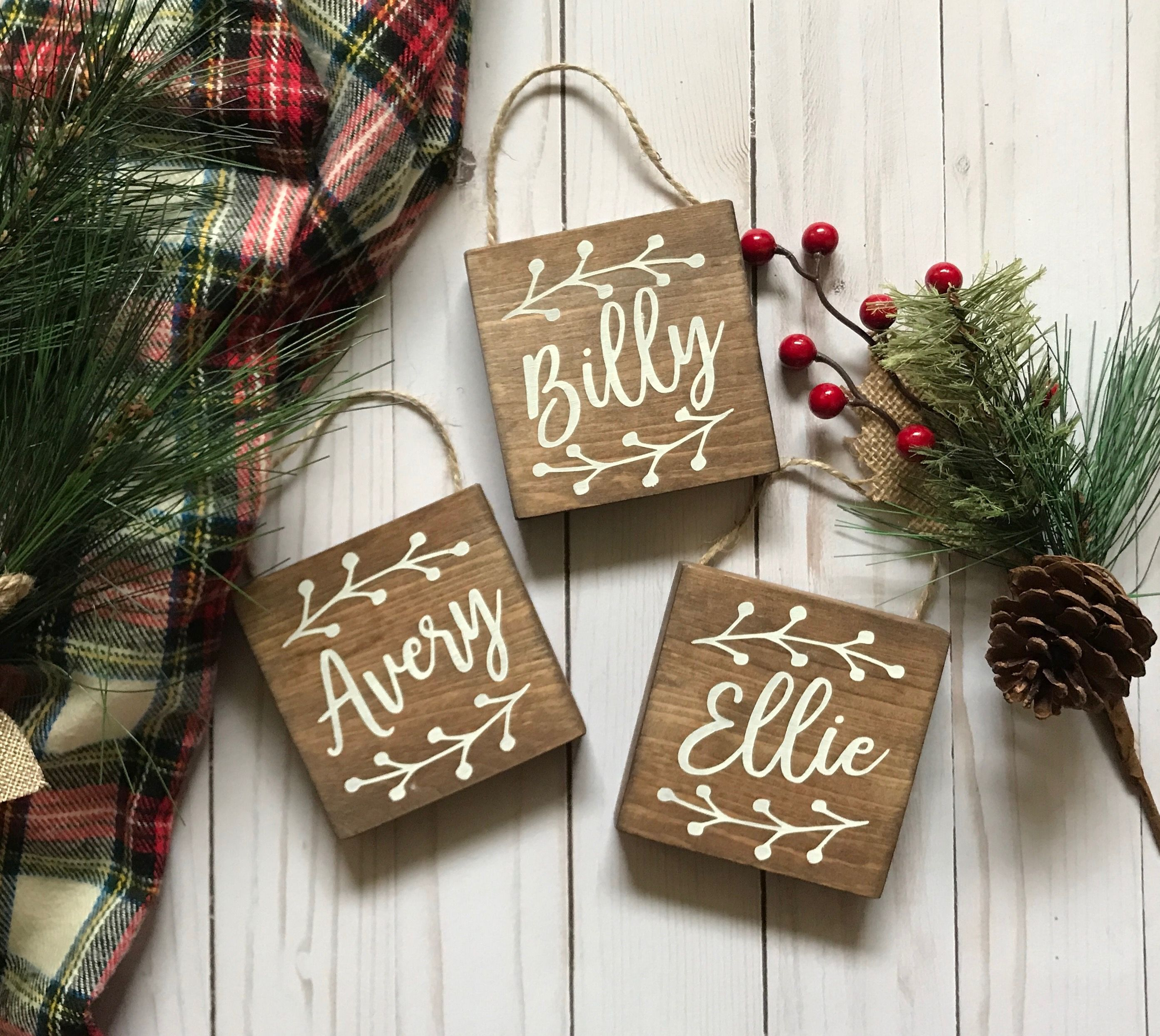 Personalized Christmas Ornaments Rustic Christmas Tree Ornaments Wooden Christmas Orn Christmas Ornaments Christmas Tree Ornaments Wooden Christmas Ornaments