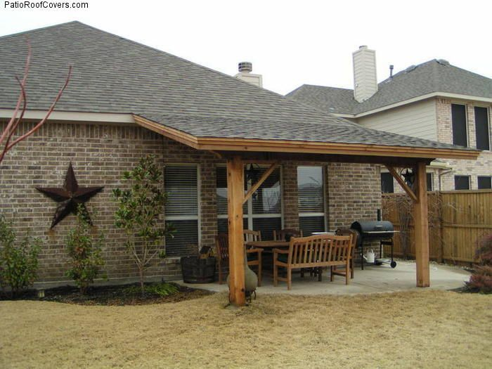 How To Build A Lean To On A Garage Ehow You May Also Like Description From Moondel Com I Searched For This On B Covered Back Patio Rustic Porch Patio Roof