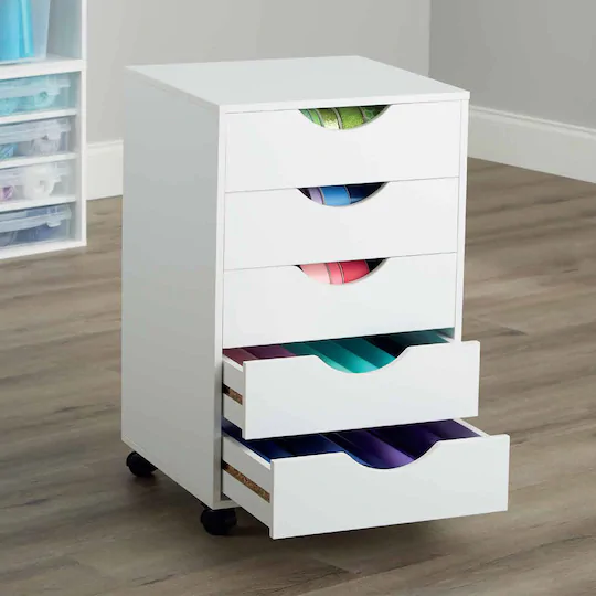 Modular Mobile Chest By Simply Tidy In 2020 Craft Storage Drawers Modular Storage Storage