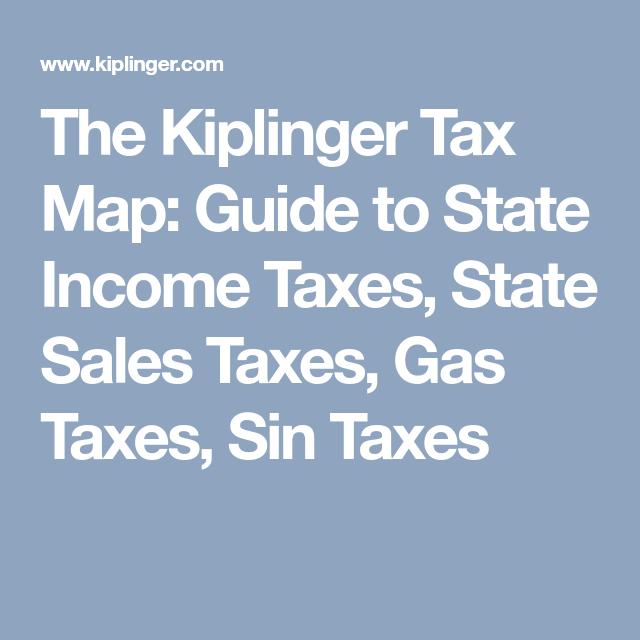 Kiplinger retirement map