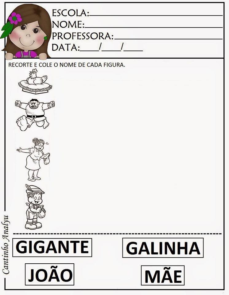 João pé de feijão | história | Pinterest