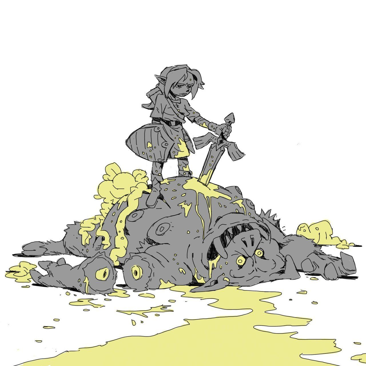 Yes This Is Aaron Character Illustration Zelda Art Character Design Inspiration