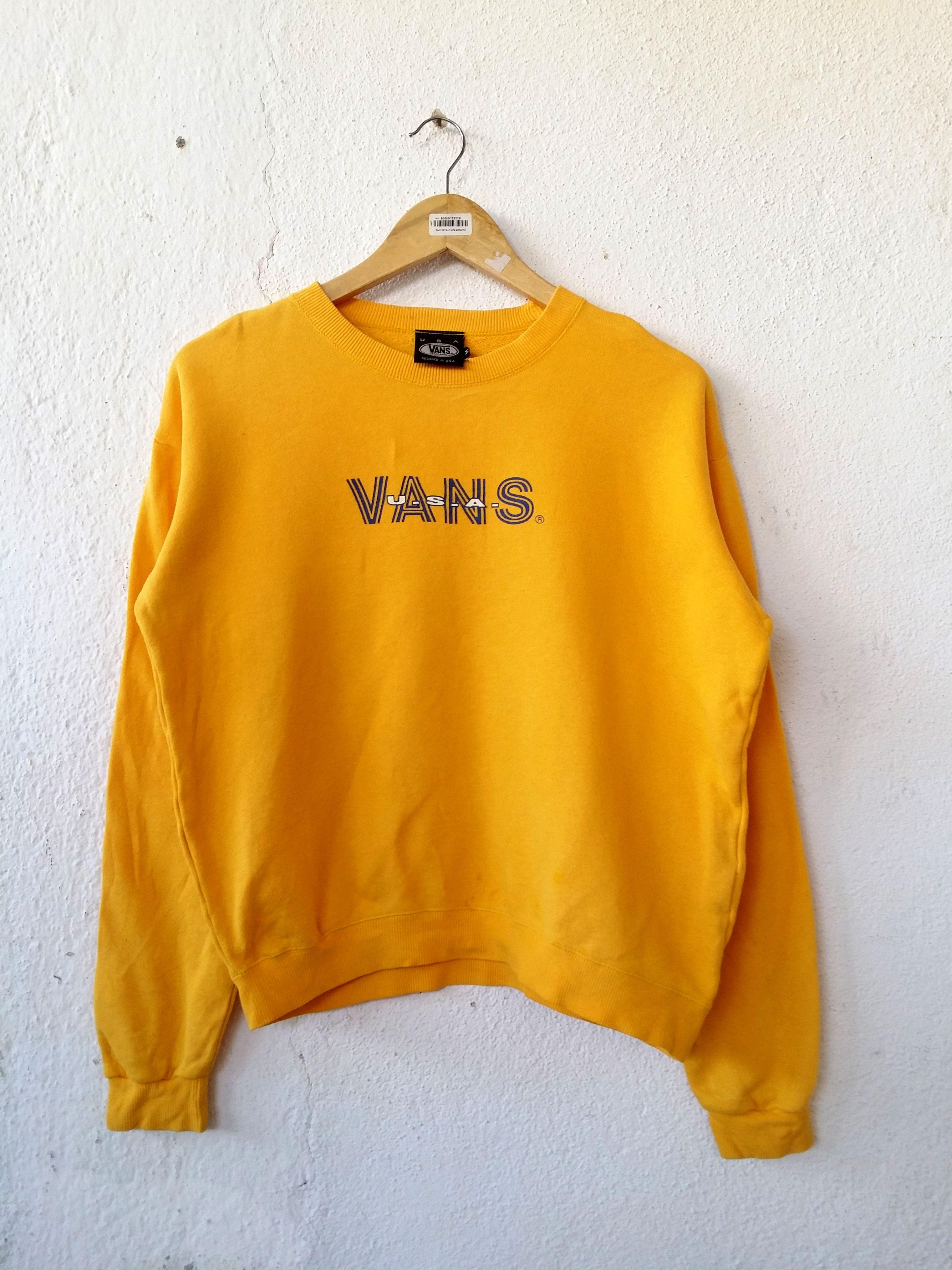 600cc26dfe Vans Sweatshirt Women USA Jumper Pullover Size M
