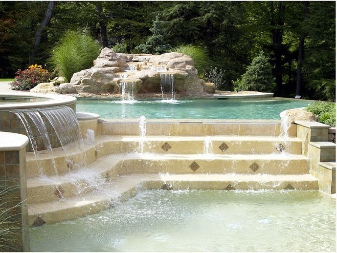 Top Trends in Pool and Spa Design | Luxury Pools | Decor | Pinterest ...