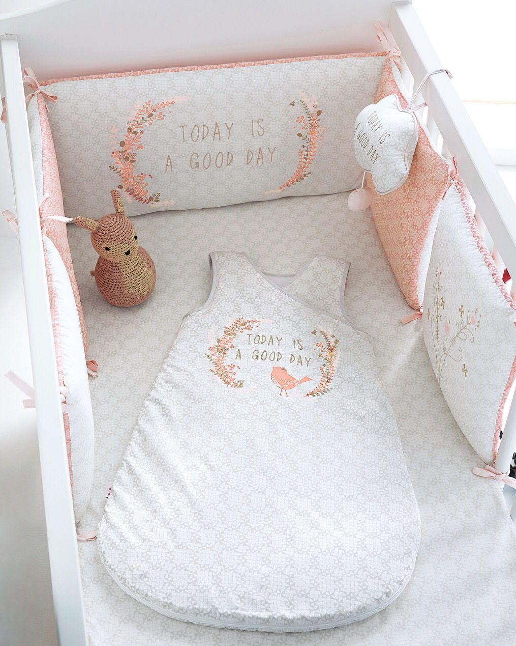 Tour de lit et gigoteuse VertBaudet - Linge de lit Bébé - Fille ...