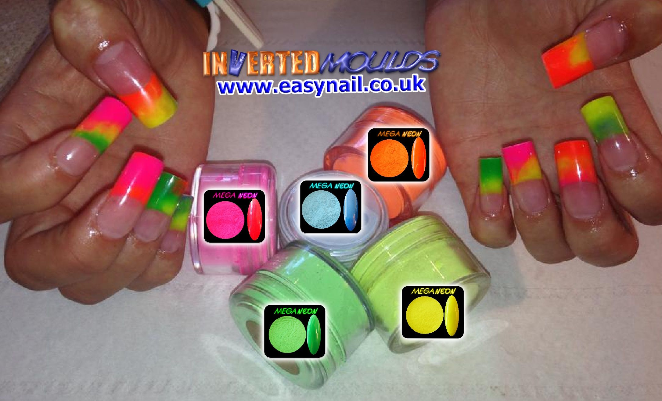 Mega Neon Acrylic Summers Specials By Karen From Shanti Nantwich