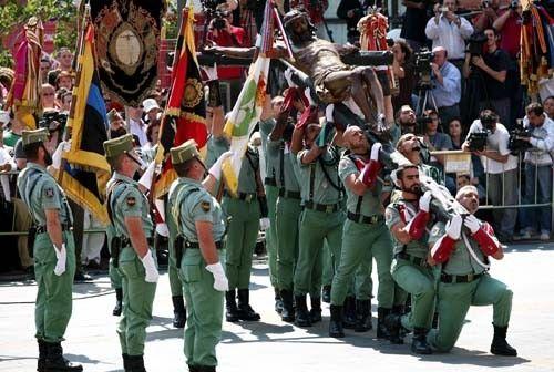 Nos Fuimos A Ronda A Disfrutar Del Espectáculo De Los Legionarios Semana Santa Semana Santa En España Málaga