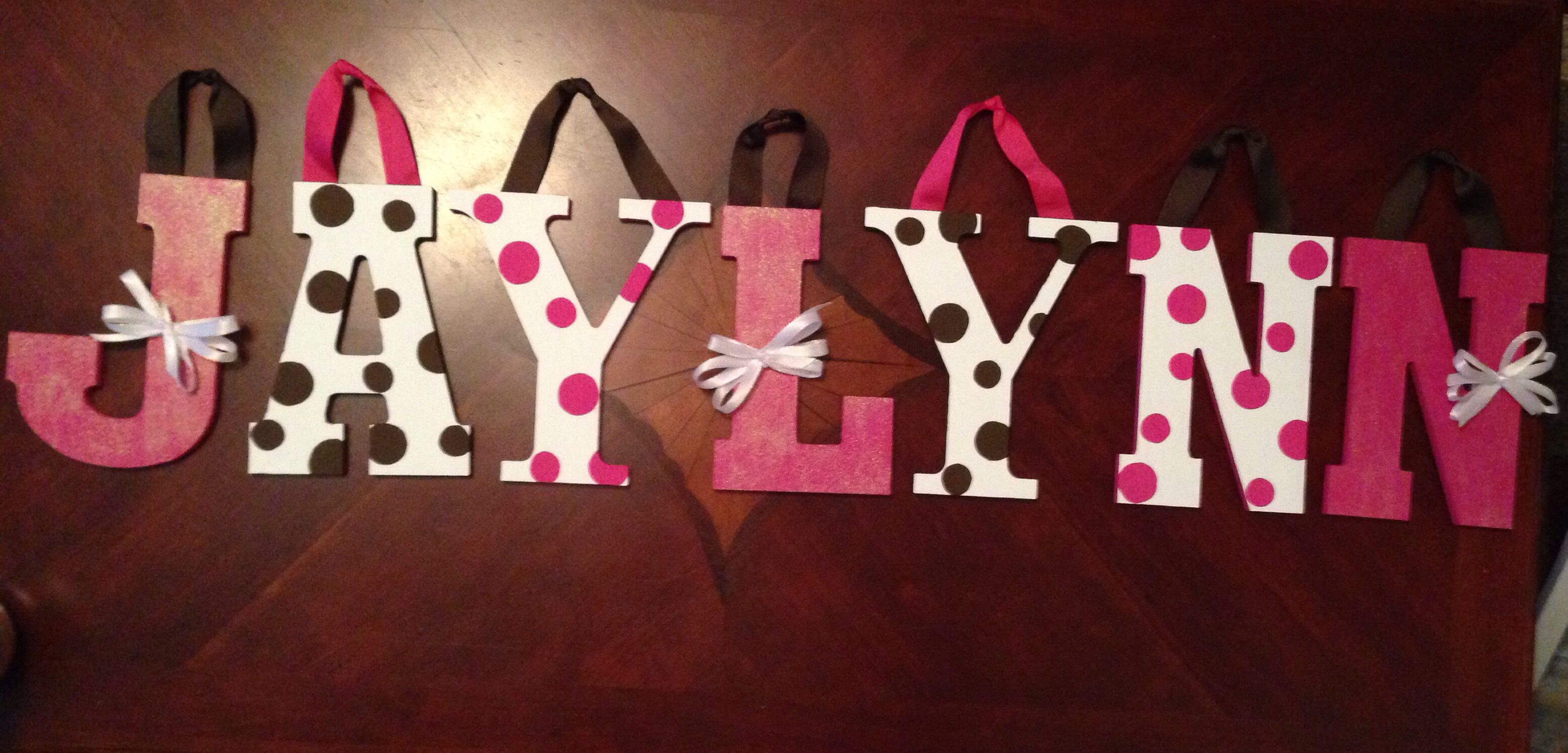 Baby girl letters