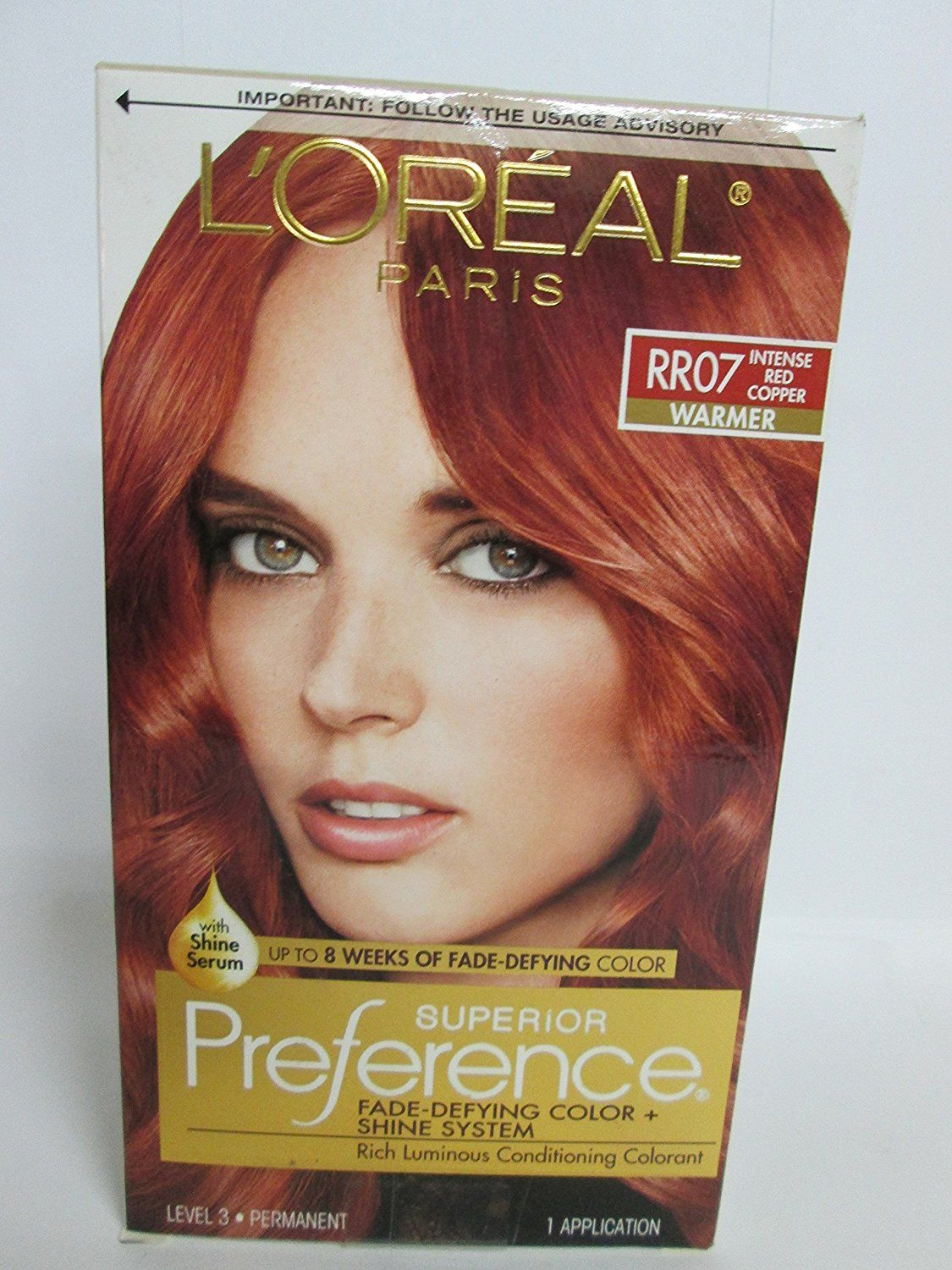 Loreal Superior Preference Fade Defying Hair Color And Shine System