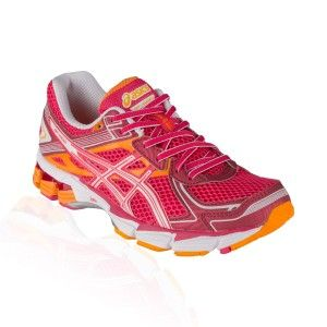 Asics - GT 1000 V2 Running Shoe - Raspberry/White/Mango