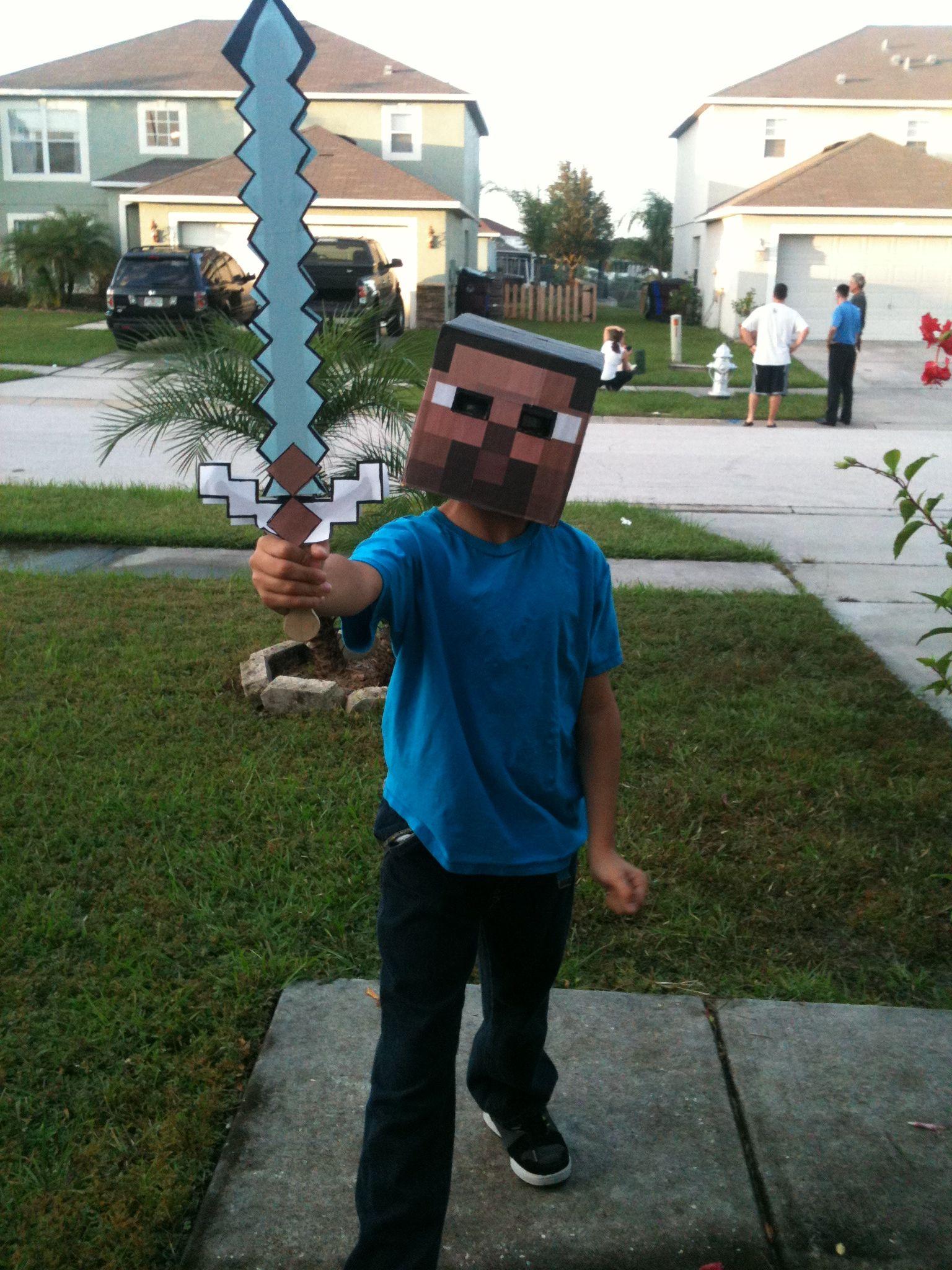 Minecraft Steve Halloween Costume halloween costume #wear ...