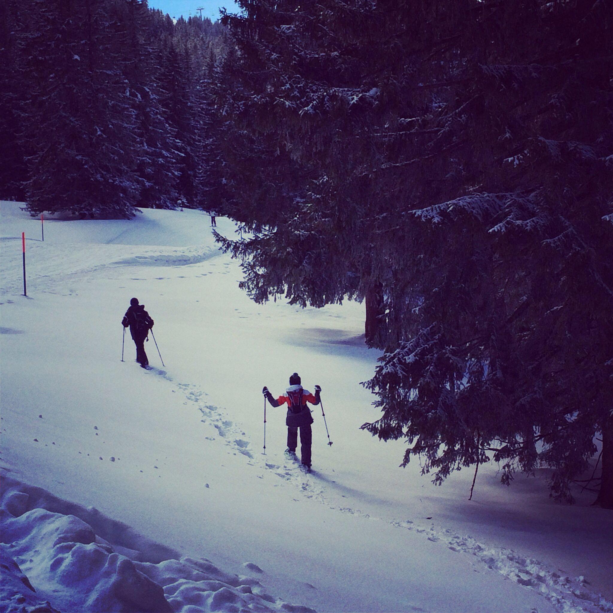 #swissheidiland#flumserberg#snowshoehiking