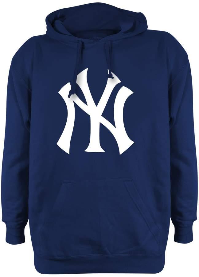 innovative design 3af6c b4027 Stitches Men's New York Yankees Pullover Fleece Hoodie ...
