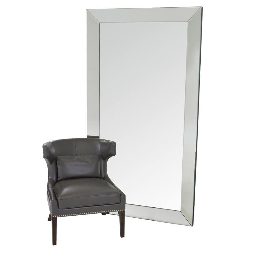 Lindford Leaner Mirror El Dorado Furniture In 2020 Leaner Mirror Glass Chair Mirror