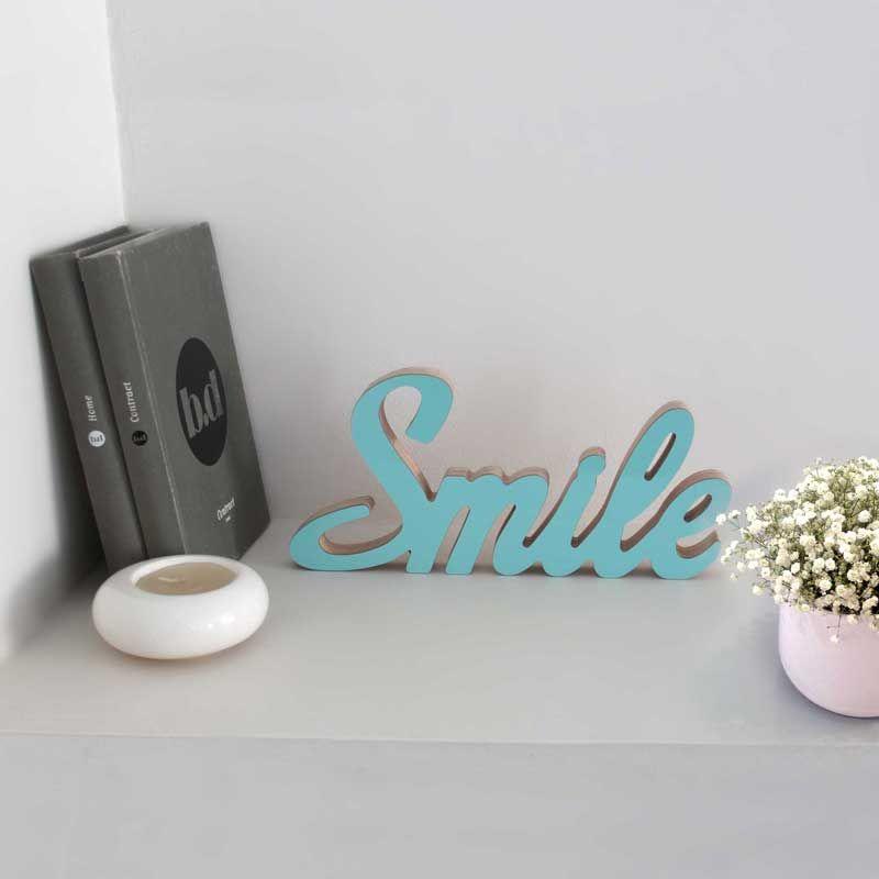 Resultado de imagen de letras para decorar la pared smile ...