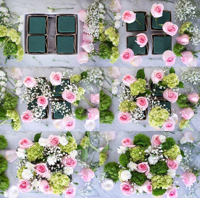 Valentine's Day Flowers Flower box gift, Diy flower