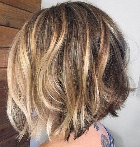 100+ Popular Short Haircuts 2018 – 2019 #caramelbalayage
