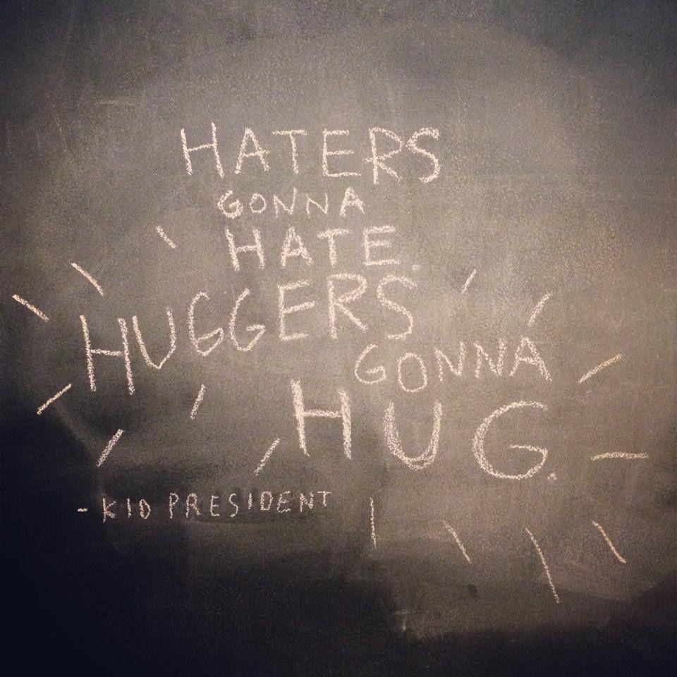 Haters Gonna Hate. Huggers Gonna Hug. Kidpres: Let's Make This The Best #Socktober...