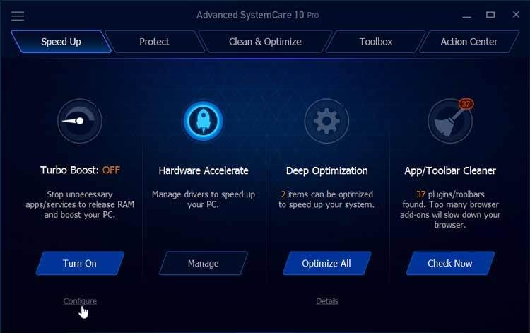Advanced SystemCare Pro 10 5 0 869 Crack With serial key