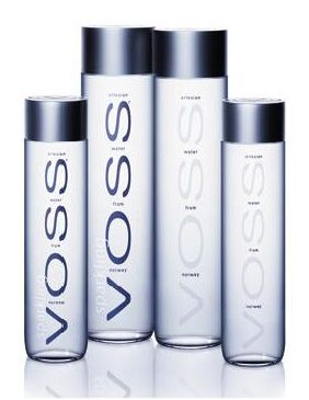 af3ac1353e Voss sparkling water | Products I Love | Glass water bottle, Voss ...