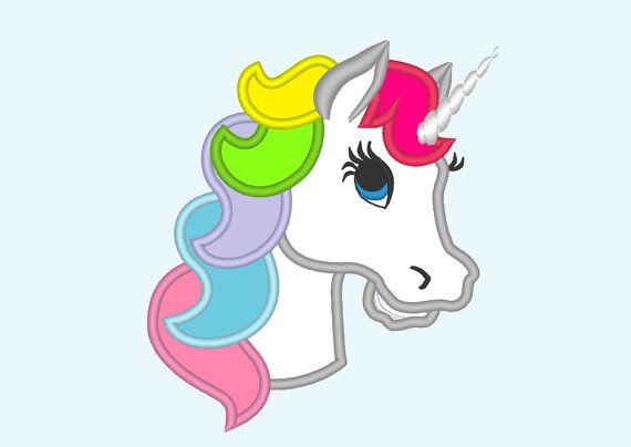 Girls Short Sleeve Glitter Rainbow Unicorn Graphic Tee