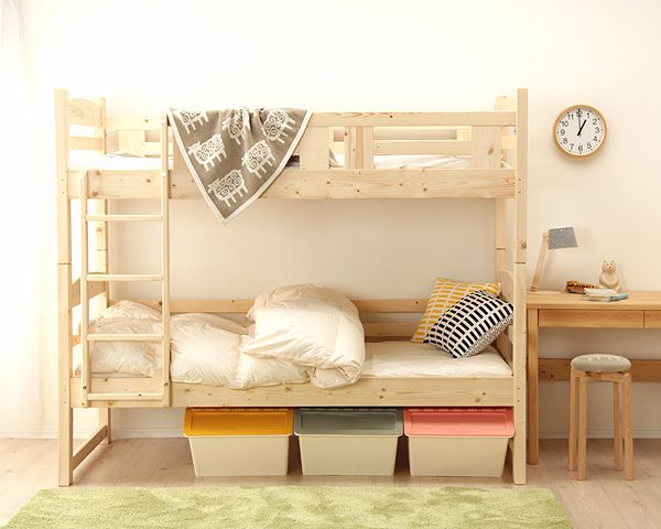 二段ベッド コンパクト 子供 2段ベッド 北欧風 二段ベッド|2段ベッド