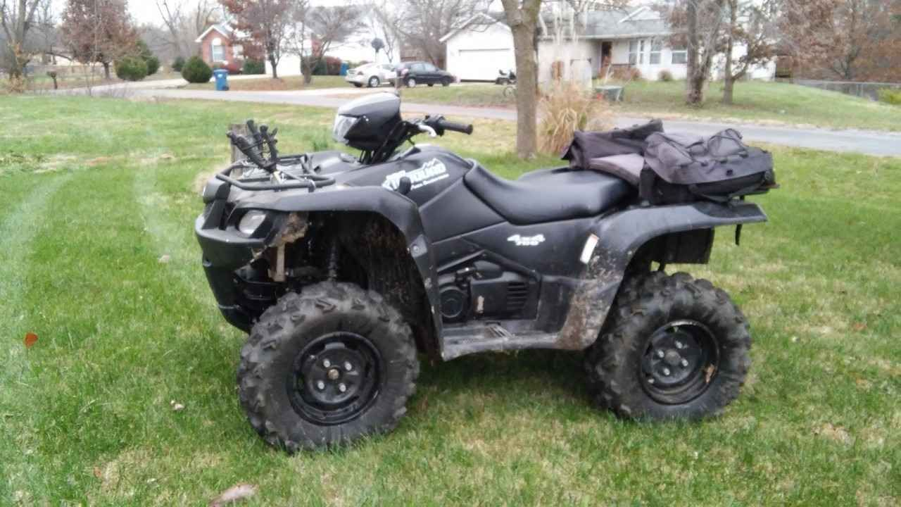 used 2007 suzuki kingquad 700 atvs for sale in illinois i. Black Bedroom Furniture Sets. Home Design Ideas