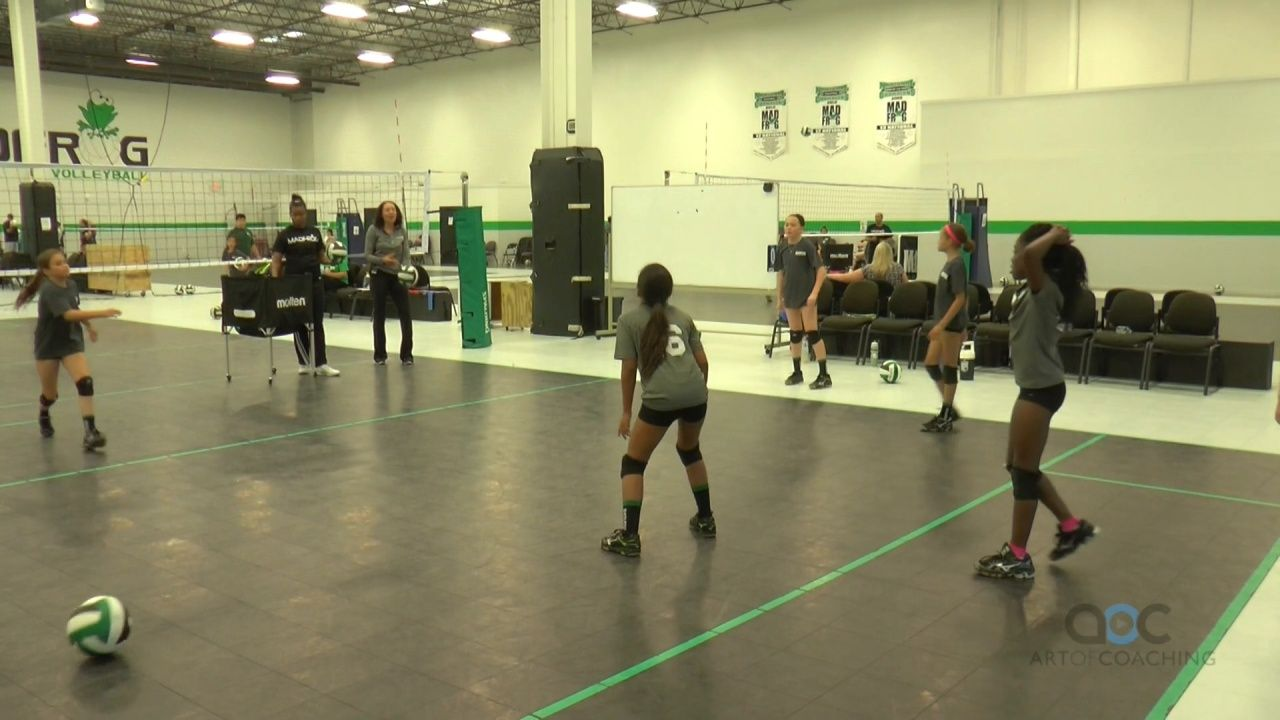 Reduce Dropped Balls With Transition Drill The Art Of Coaching Volleyball In 2020 Coaching Volleyball Youth Volleyball Volleyball Training