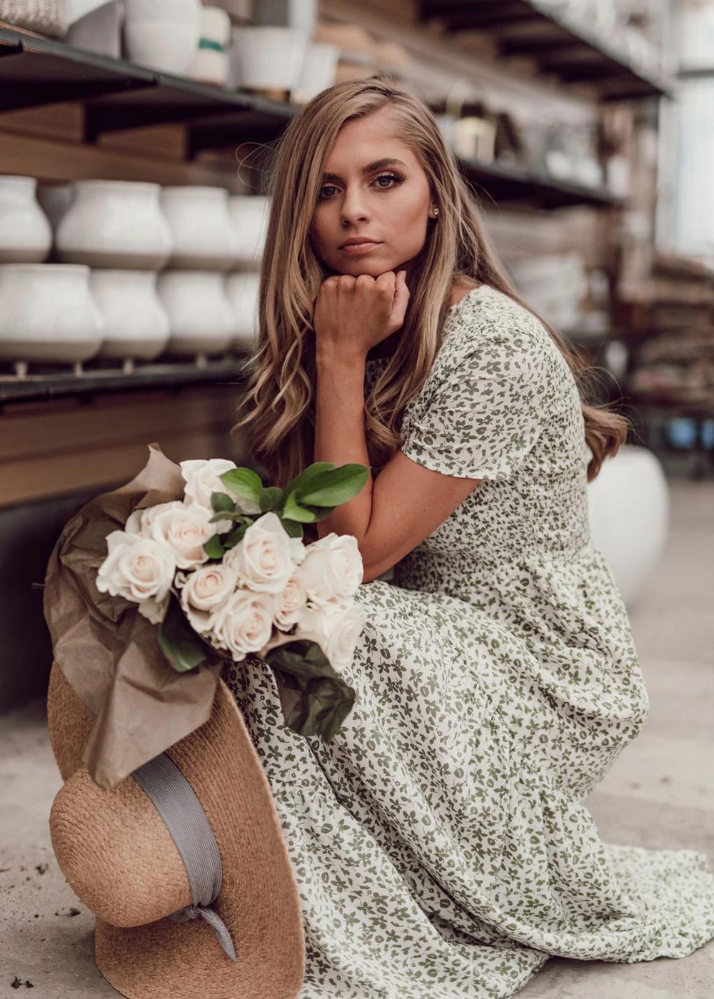 Sweet Caroline Maxi Dress Jessakae Green Dress Bridesmaid Dress Modest Dress Floral Shoot Tan Skin Womens Fa Tiered Maxi Dress Stunning Dresses Dresses [ 1400 x 1000 Pixel ]