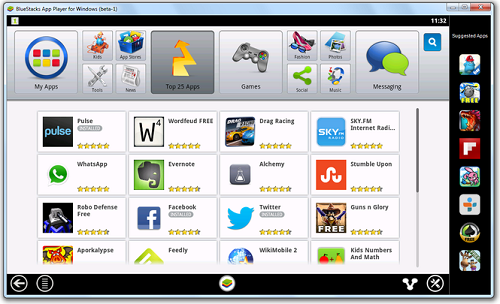 If you want to use Android Applications on your computer