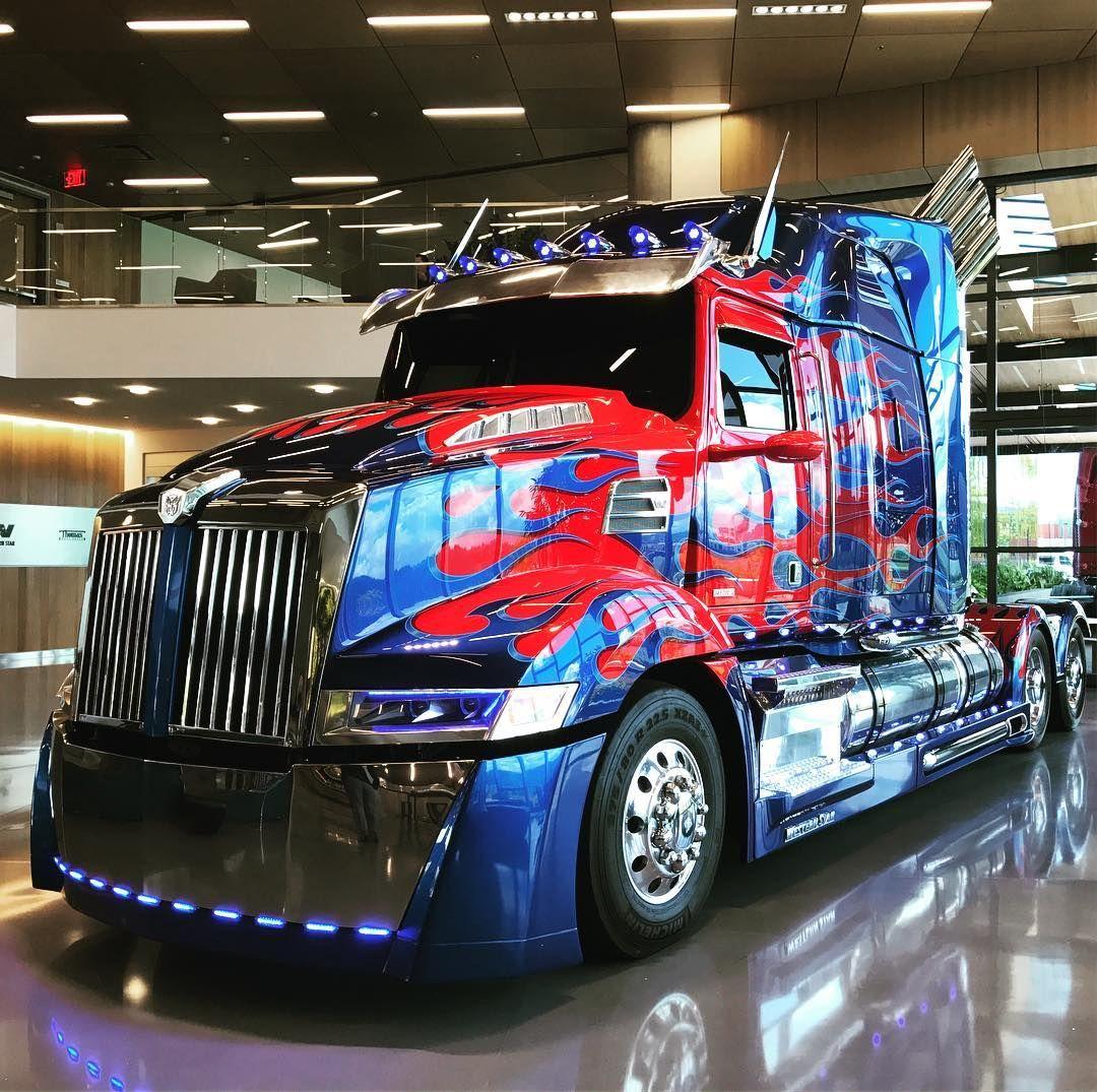 Western Star 5700 The Optimus Prime Variant Daimler