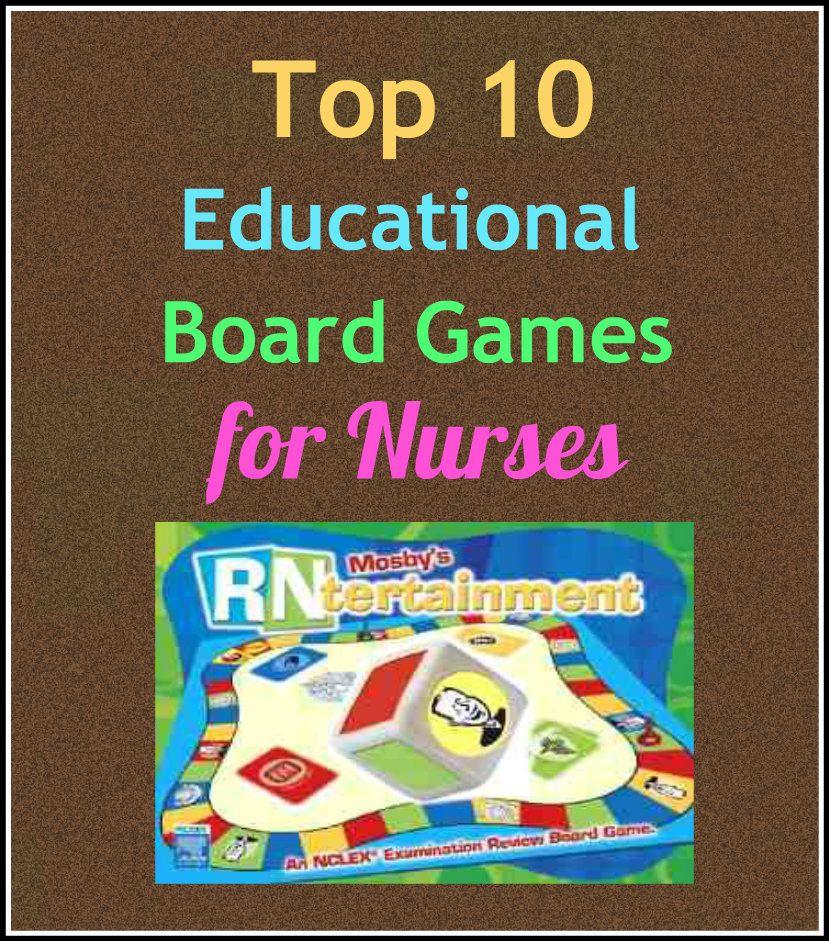 Top 10 Educational Board Games For Nurses Nurse