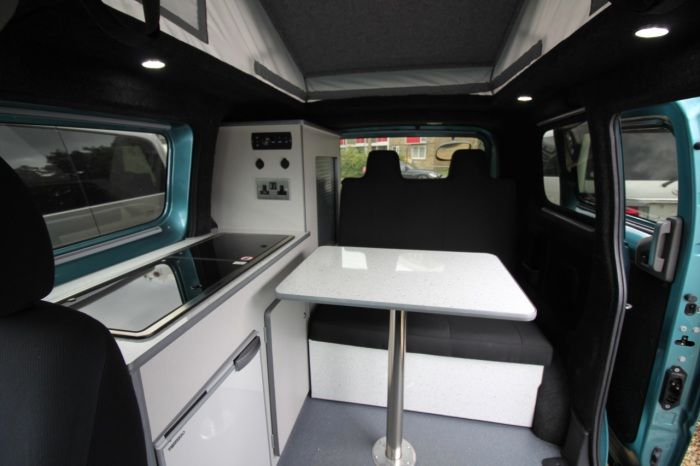"Turbo Nissan NV200 classic ""side kitchen"" style but minaturised to suit  YJ36"