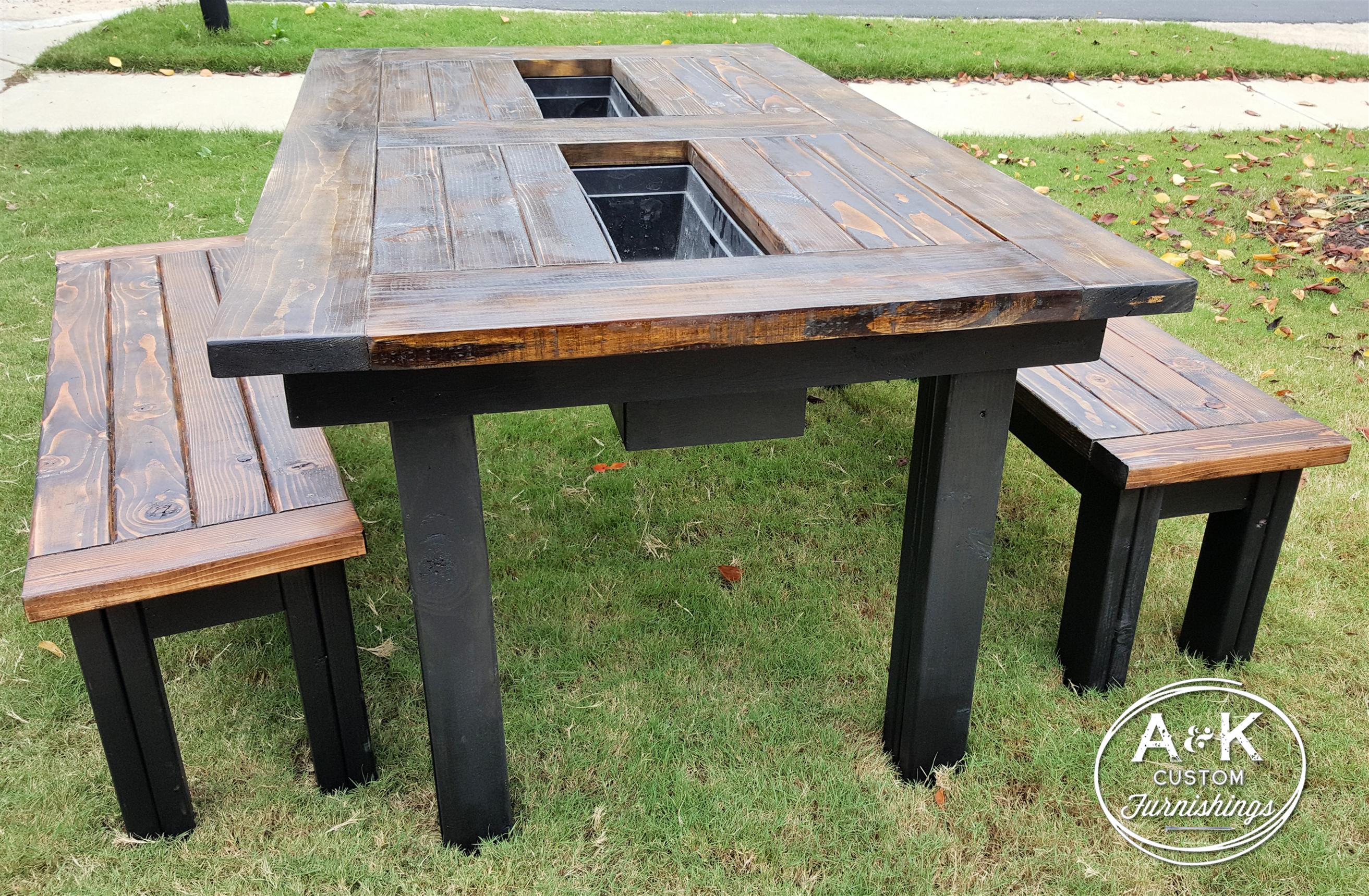 Outdoor Patio Table | Patio table, Outdoor tables, Diy ...