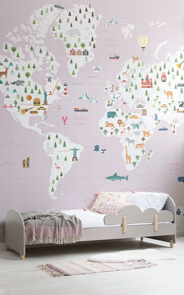 Girls Bedroom Ideas | Girls Bedroom Wallpaper, Girls Room Wallpaper, Baby Girls Bedroom Ideas Nurseries