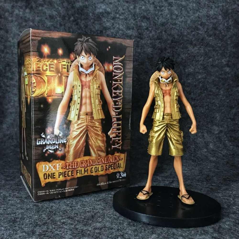 NEW One Piece Monkey·D·Luffy PVC Action Figure Collection Figurine Toy Gift 17CM
