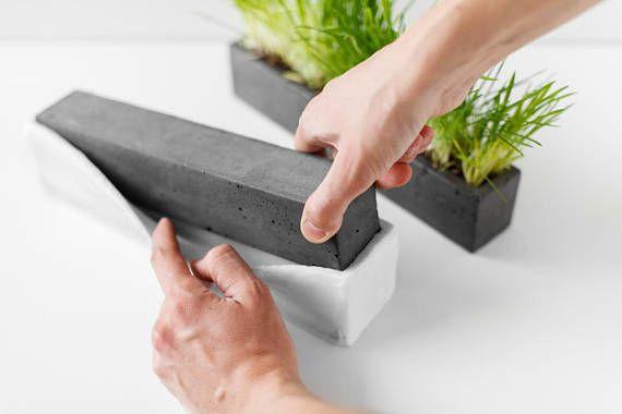 Polyurethane mold for making flower pot made of concrete. Silicone mold for concrete molding #flowerpot