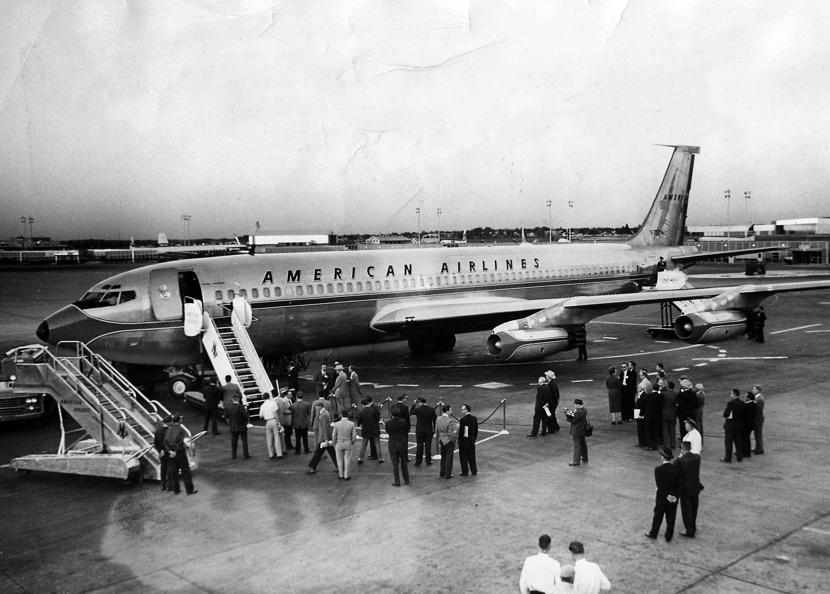 Google Image Result for JFK at Dallas. Boeing 707