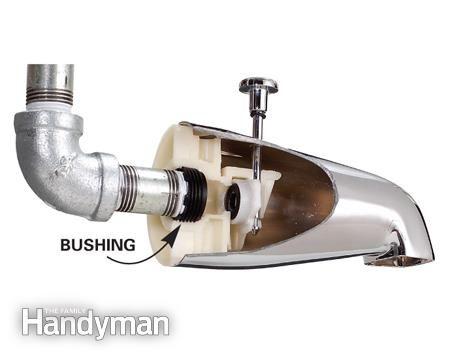 How to Replace a Bathtub Spout | Bathtub spouts, Faucet repair