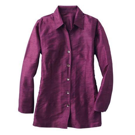 Plus Size Silk Shantung Big Shirt Fashion Stuff Pinterest Big Shirts Size Clothing And Shirts