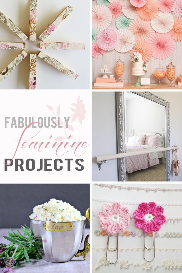 Pretty, adorable, and fabulously feminine projects that YOU can make! maisondepax.com