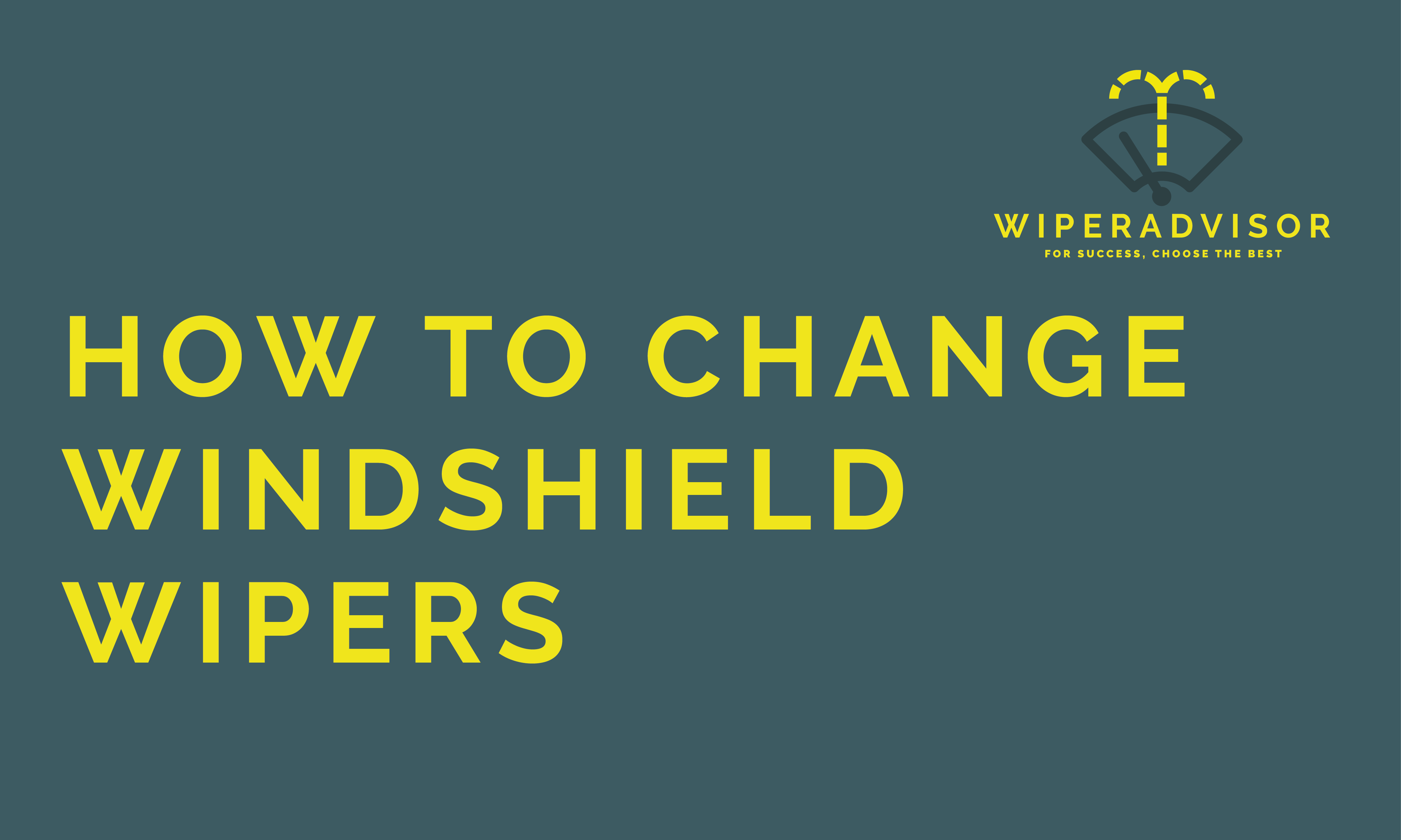 How to Clean Wiper Blades (March 2017 Wiper blades