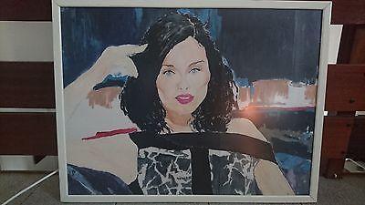 Tableau art portrait Soplie Ellis-.Bextor  sur papier. 65x84cm. S'en le cadre https://t.co/3FUCD5EyIP #Decoration https://t.co/lgXZ5nAApT