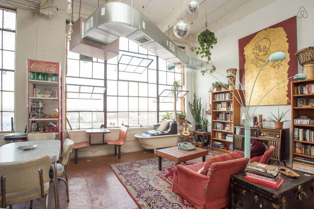 Bohemian paradise in industrial bk in brooklyn lofts for
